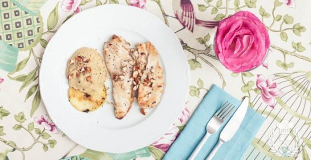Pollo al romero con tela estampada EquipoDRT